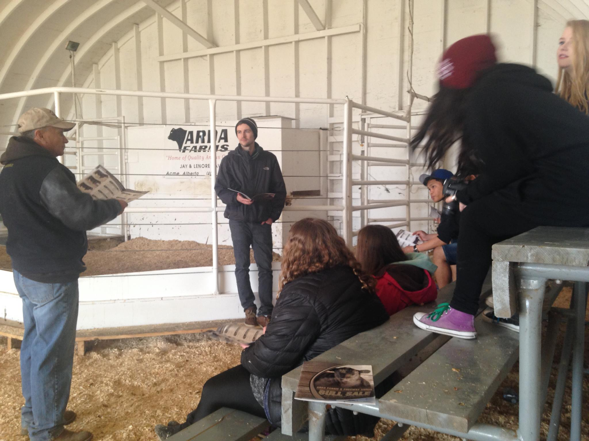 Career connections farm tour